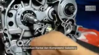 Proses pembukaan Enjin Lagenda 110