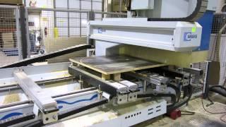 Weeke Optimat BHC 550 CNC Machining Center