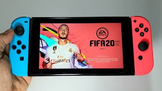 FIFA20 EA SPORTS FIFA 20 Nintendo Switch Legacy Edition handheld gameplay