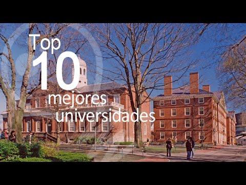 Top 10 mejores universidades del mundo