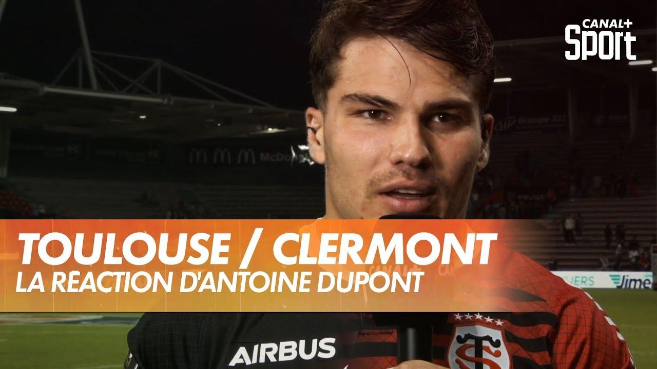 Download La réaction d'Antoine Dupont après Toulouse / Clermont