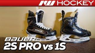 Bauer Supreme 2S Pro vs. 1S Skates // Tech & Spec Comparison