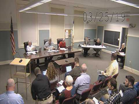 West Newbury Selectmen 032519