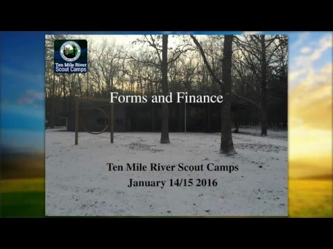 Boy Scout: Forms and Finance