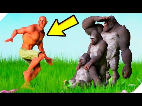 Угарные БИТВЫ ЖИВОТНЫХ и ЛЮДЕЙ! - Animal Revolt Battle Simulator