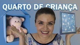 DIY - Ideias FÁCEIS e BARATAS de decoração para QUARTO DE CRIANÇA