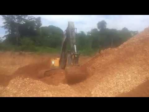 Gold mine in Ghana with Akerman