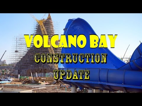 Universal Orlando Resort Volcano Bay Construction Update 12.9.16 Like Pieces To A Puzzle!