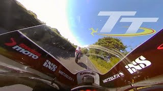 GUY MARTIN and Horst Saiger | EPIC Isle of Man TT On Bike Lap with Commentary!