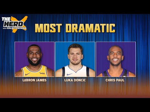 Colin Cowherd hands out NBA Superlatives for this year's playoffs   NBA   THE HERD