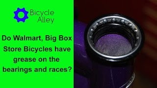 Do Chinese Bicycle Factories Really Apply Grease to Bearings on Walmart, Big Box Store Bicycles