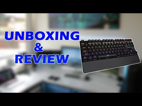 Keyboard Unboxing - Tastiera E RE E Gafit - Shqip
