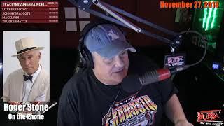 Roger Stone Calls Bubba LIVE