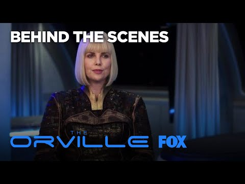 Guest Starring: Charlize Theron  Season 1  THE ORVILLE