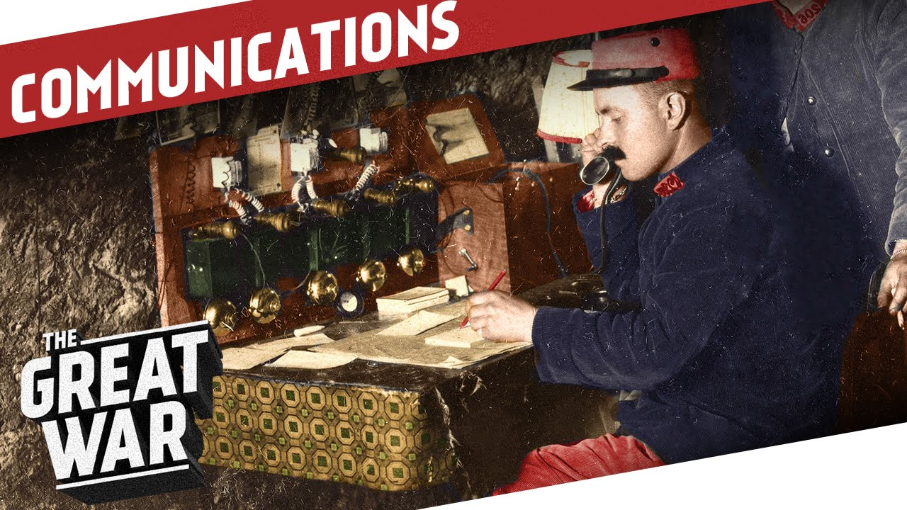 Download Beyond Wires and Pigeons - Communications in World War 1 I THE GREAT WAR Special