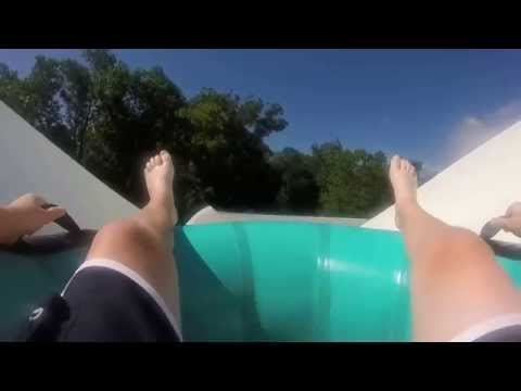 Meltdown Water Country USA, Williamsburg Virginia GoPro Hero POV