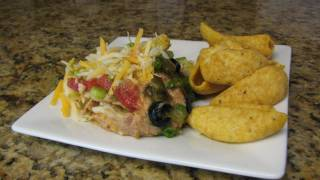 Layered Mexican Bean Dip - Lynn's Recipes