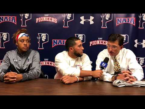 UAV Women's Basketball Video Recap and Post Game Interview vs. Lewis Clark State College 10-27-17