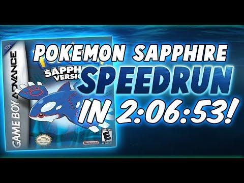 Pokemon Sapphire Speedrun in 2:06:53
