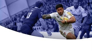 The return of Manu Tuilagi - Newcastle Falcons vs Leicester Tigers