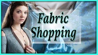 Mein nächstes COSPLAY: Idee, Stoff Shopping VLOG & HAUL [Margaery Tyrell]