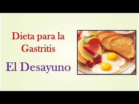 Dieta para una gastritis severa