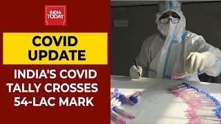 Coronavirus Latest Update: India's Covid-19 Tally Stands At 54,87,581 With Death Toll Over 87,882