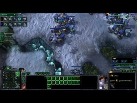 [SC2 LOtV] Terran vs protoss @ Frost LE