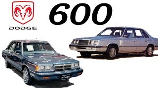 El Dodge 600 // Chrysler 600 (1982-1988)