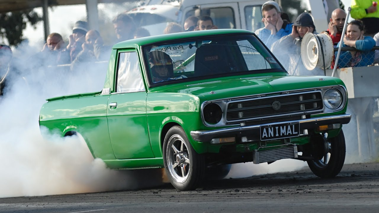 Datsun Ute 13B Turbo ANIMAL YouTube