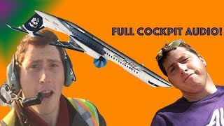 Cockpit Audio from Stolen Airplane at SEATAC in Seattle - Richard Russell Plane Crash