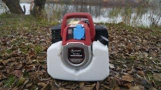 видео Простой бензиновый генератор 220В (заводится стартером!)