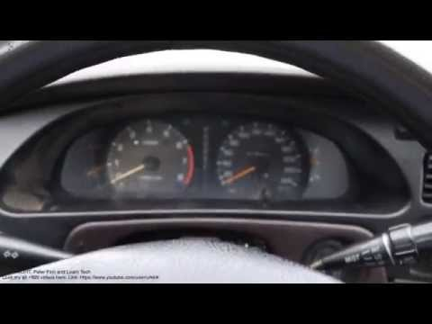 How to start and drive Toyota Camry automatic car. Years 1992 to 2008
