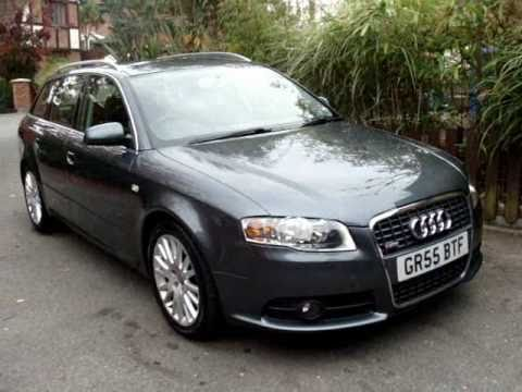 audi a4 tdi s line avant 2005 youtube. Black Bedroom Furniture Sets. Home Design Ideas