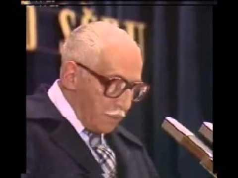 Kopecký Miloš - Projev na IV. sjezdu Svazu dramatických umělců