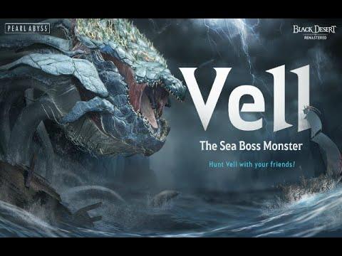 Black Desert Online (Remastered) - Boss Vell - Gameplay - Español (Castellano)