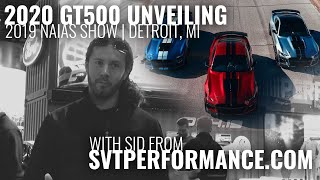 Travis from SVTPerformance shows off the 2020 Ford Shelby GT500 from Detroit!