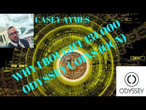 Why I Bought 131,000 Odyssey Coins (OCN) - Casey Aymes
