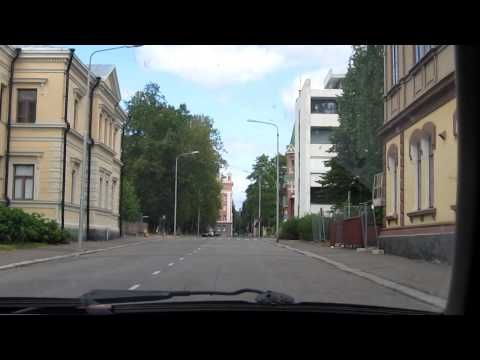 Driving in Kuopio harbour, Finland Travel Video