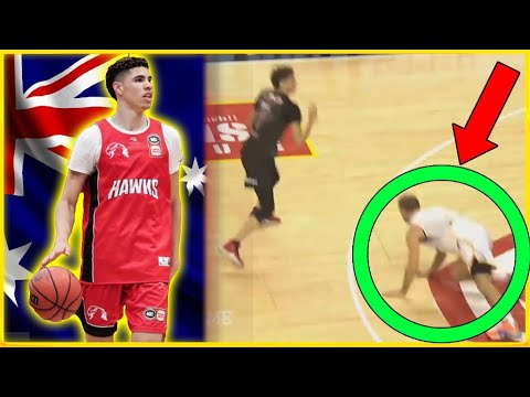 how-impressive-was-lamelo-ball-in-his-nbl-pro-debut-really?-ft.-crazy-double-ankle-breaker!