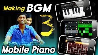 Moonu 3 BGM Making Mobile Piano | Moonu 3 | Bike ride bgm |