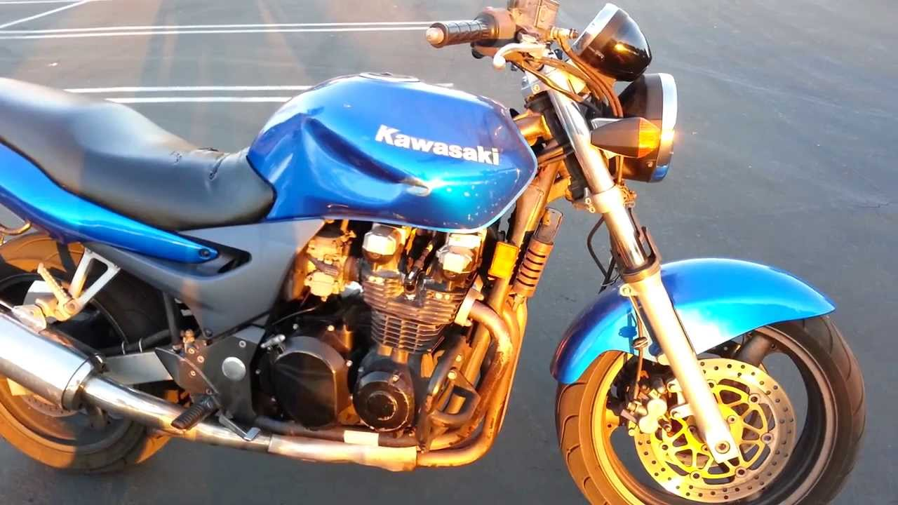 Hadesomegas 2000 Kawasaki Zr 7 Project Bike Youtube
