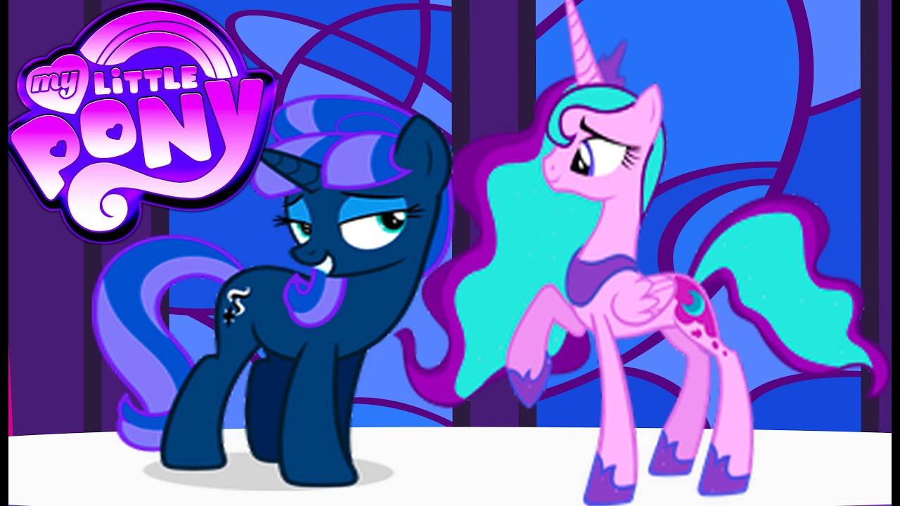 My Little Pony Transforms Color Swap Princess Luna