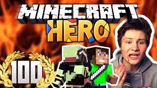 Minecraft HERO #100 - DAS BLUTIGE ENDE! (SPECIAL)   ungespielt