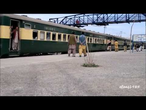 Pakistan Railways: Jaffar Express (Up) Departure from Quetta