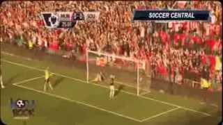 Manchester United Vs Southampton 1-1 Goals and Highlights 2013