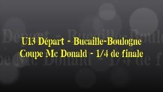 Retour sur le match... U13 Départ. // Bucaille-Boulogne