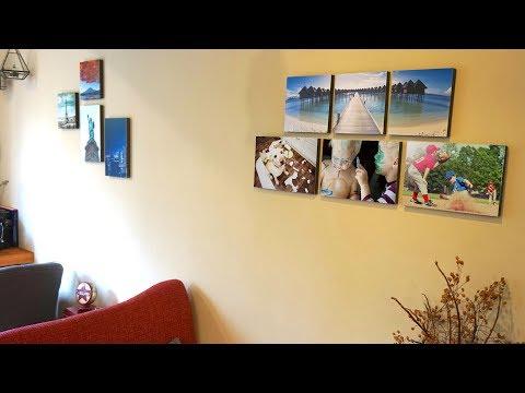 Meshcanvas : Peel. Stick. Decorate. Stickable Custom Canvas Prints!