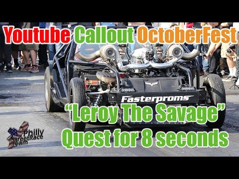 Thumbnail: Cleetus Breaks 8 seconds at Cecil County Dragway