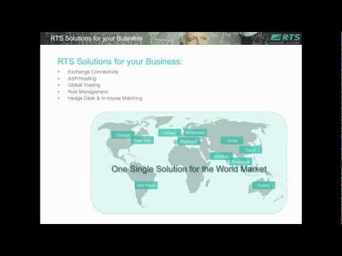 RTS Overview: Technology Solutions for Global Trading